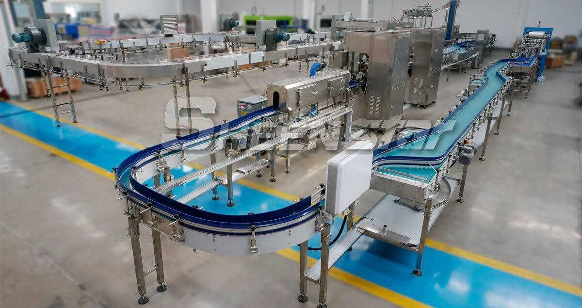 Sheenstar juice filling machine